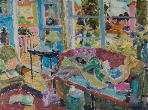 The Sitting Room (HG1127) Oil on Board 22.75