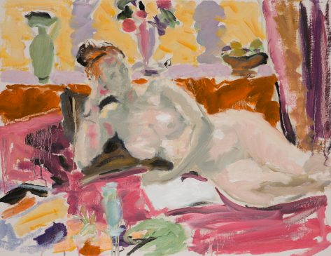 Study of a Resting Figure II (HG1137) Oil on Canvas 20