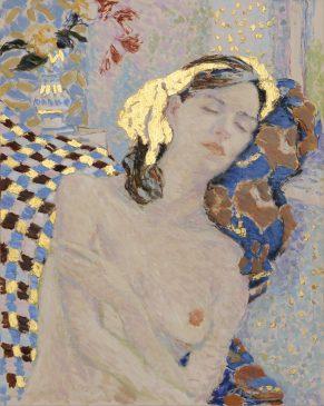 A Pilgrim Soul (HG1022) Oil & Gold Leaf on Canvas 30