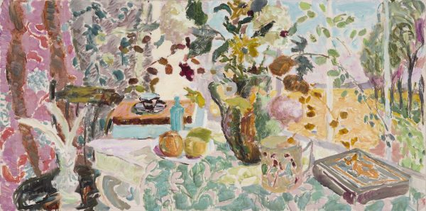 View from the Studio, Late Summer (HG1052) Oil on Canvas 24