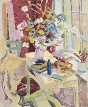 The Big Window, Autumn II (HG1056) Oil on Canvas 46