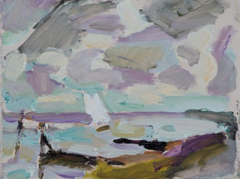 Breezy Afternoon, The Debden (HG1117) Oil on Board 6