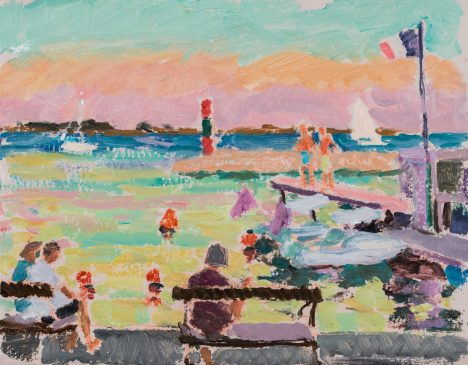 Last Light: Summer Day at Marseillon (HG1189) 11.5
