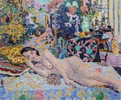 oil painting nude figure painting