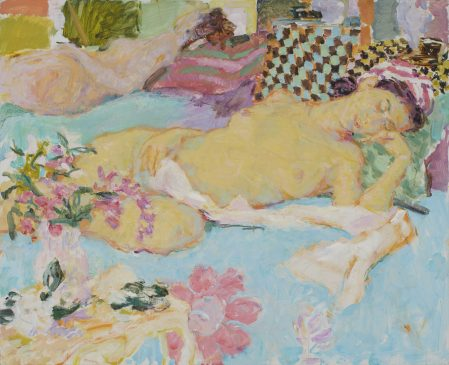 Afternoon Light, Sleeping Nude Dreaming (HG922) Oil on canvas 34