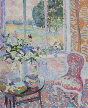 Summer Through the Window (HG927) Oil on canvas 42