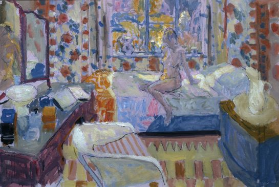 Bedroom Interior (HG625) Gouache 15