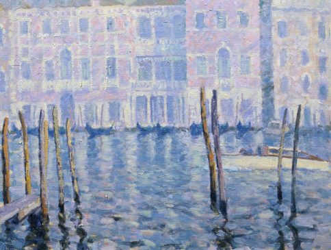 Misty Morning, Grand Canal (HG218) Oil on Canvas 20