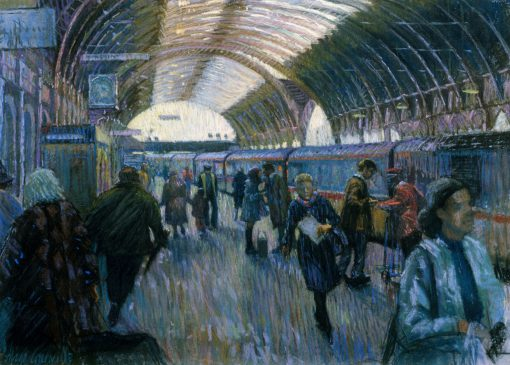 The 3.45 from Paddington (HG13) Pastel 22.5