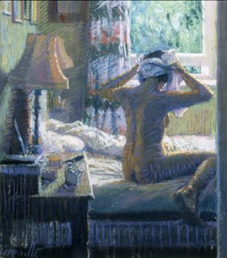 After the Bath (HG2) Pastel 20
