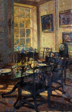 The Dining Room (HG22) Oil on Canvas 30
