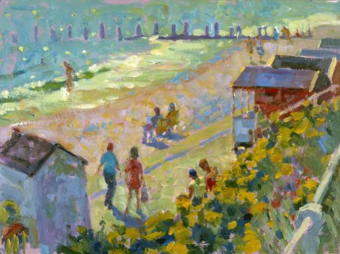Study for Southwold, July Morning (HG365) Oil on Board 13