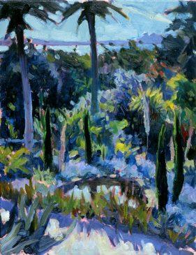 Tresco Gardens III (HG383) Oil on Canvas 18