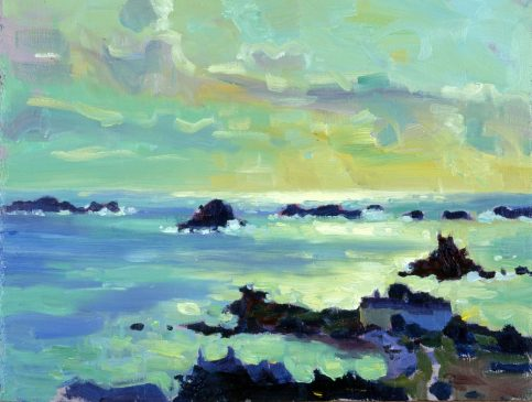 Hell Bay, Late Afternoon (HG389) Oil on Board 12