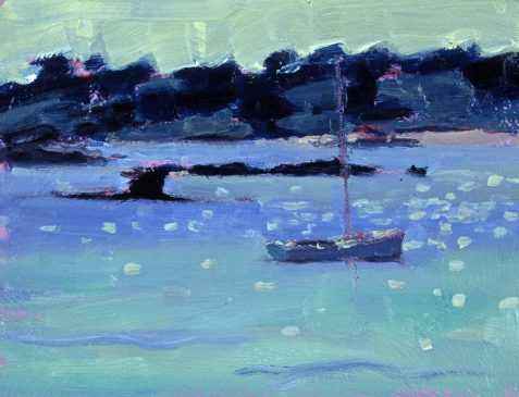 Rushy Point (HG402) Oil on Board 6