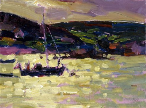 Bryther, Late Afternoon (HG405) Oil on Board 6