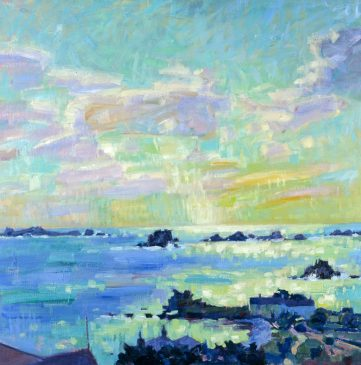 Hell Bay, September Afternoon (HG411) Oil on Canvas 32