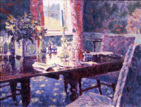 The Dining Room (HG64) Pastel 16.5