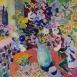HG1145 Summer in Pienza Oil on Canvas 38