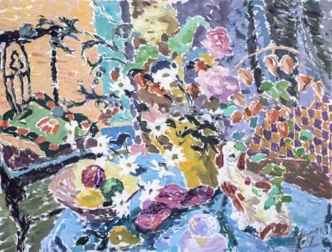 HG1309 Summer Light Oil on Canvas 32