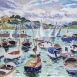 HG 1307 Sailing Home Oil on Board