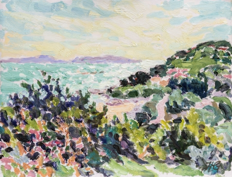A May Morning (HG1322) Oil on Board 11