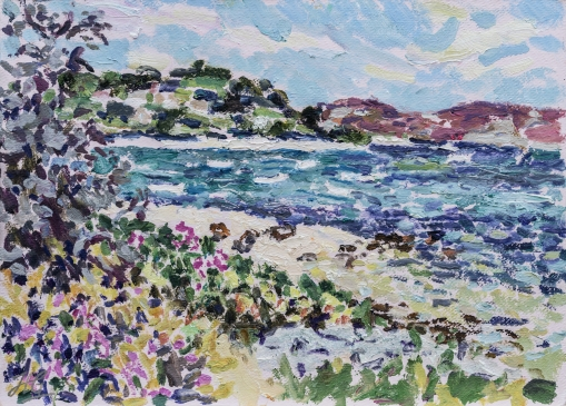 By Samson Hill (HG1327)  Oil on Board 14
