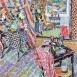 "Morning Light: The Chapel Studio (HG1337) Oil on Canvas 46"" x 38"""