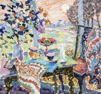 """Winter Sun (HG1356) Oil on Canvas 30"""" x 32"""""""