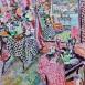 'The Studio, Summer Morning' (HG1338) Oil on canvas 46