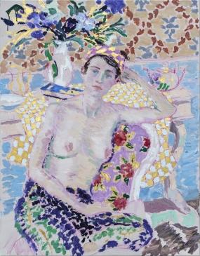 Reverie  (HG1381) Oil on canvas 36