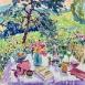 'Après le déjeuner' (HG1385)  Oil on canvas 30