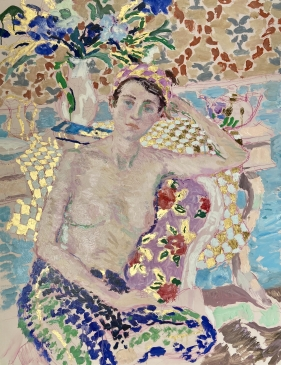 'Reverie' (HG1381) Oil on canvas 36